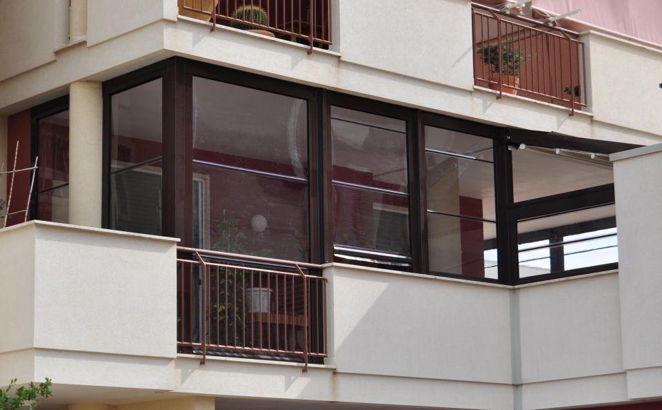 Tende Veranda Per Balconi : Tenda veranda con stecche centro tende arquati
